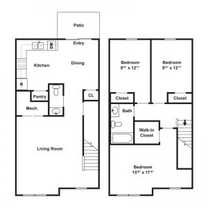 Riverfront Village at Pennsauken Floor Plan Image 2