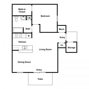 Sharp Road Apartments Floor Plan Image 1