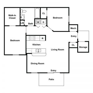 Sharp Road Apartments Floor Plan Image 2
