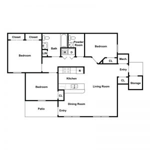 Sharp Road Apartments Floor Plan Image 3