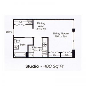 Sherburne Senior Housing Floor Plan Image 3