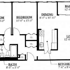 Southeast Towers II Floor Plan Image 2