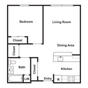 St. Michael's Senior Apartments I & II Floor Plan Image 2