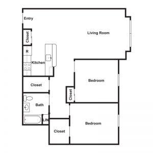 St. Michael's Senior Apartments I & II Floor Plan Image 3