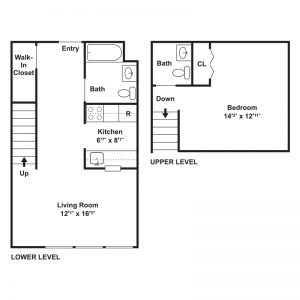 St. Patrick's Apartments Floor Plan Image 1