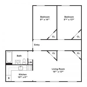 St. Patrick's Apartments Floor Plan Image 3