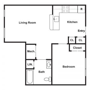 Tajdeed Residences Floor Plan Image 1