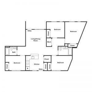 Tajdeed Residences Floor Plan Image 3