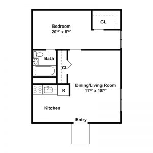 Tamarack Station Apartments Floor Plan Image 5