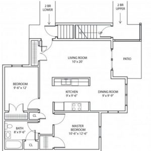 The Overlook Floor Plan Image 2