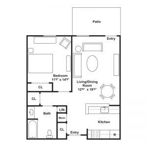 Westlake Mews Adult Community Floor Plan Image 1