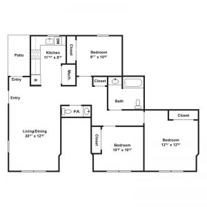 White Oak at Mantua Floor Plan Image 2