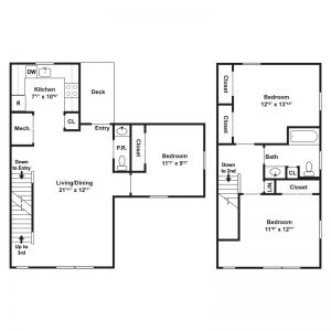 White Oak at Mantua Floor Plan Image 4