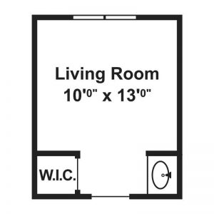 YWCA Apartments Floor Plan Image 3